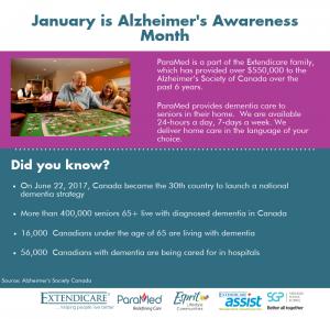 ParaMed Commemorates Alzheimer's Awareness Month